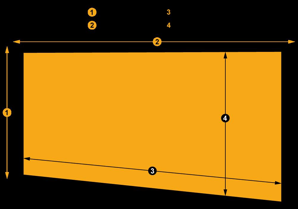 Esquema toldo vertical